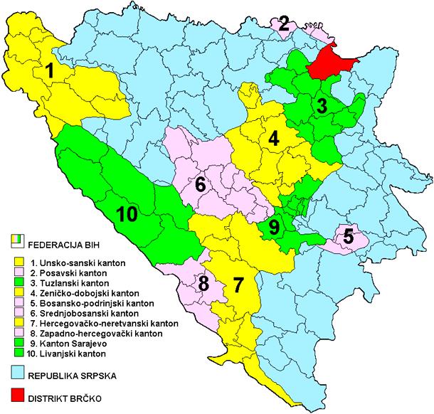 Photo of BiH klizi ka raspadu