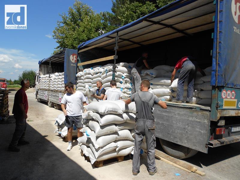 Norveška vlada donirala 25 tona stočne hrane zvorničkim poljoprivrednicima