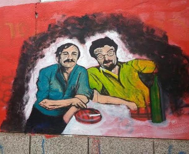 Milan i Žika dobili svoj mural u Banjaluci