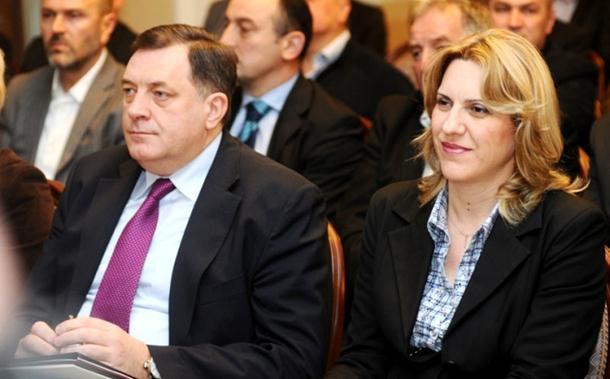 Dodik kandidat za Predsjednika RS, Željka Cvijanović za člana predsjedništva BiH