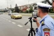 Skoro 200 kazni zbog brzine na području PU Zvornik