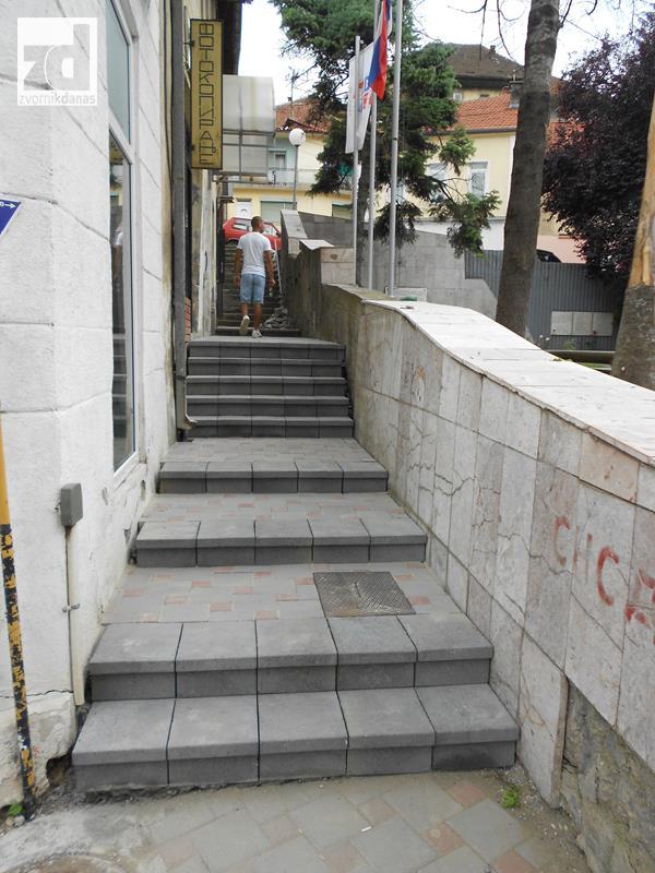 Photo of Sanacija stepeništa u centru grada