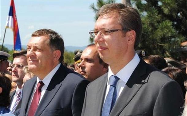 Dodik i Vučić na centralnoj manifestaciji 4. avgusta kod Sremske Rače