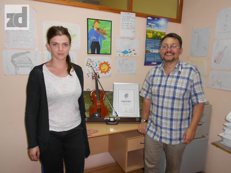 Photo of Zvornička muzička škola dobila violinu