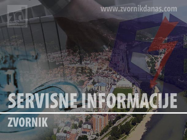 Photo of Zvornik u subotu bez električne energije