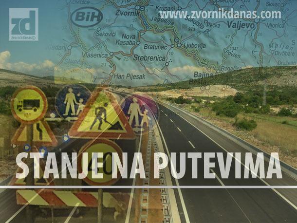 Zabrana za teretna vozila putu Bratunac - Drinjača