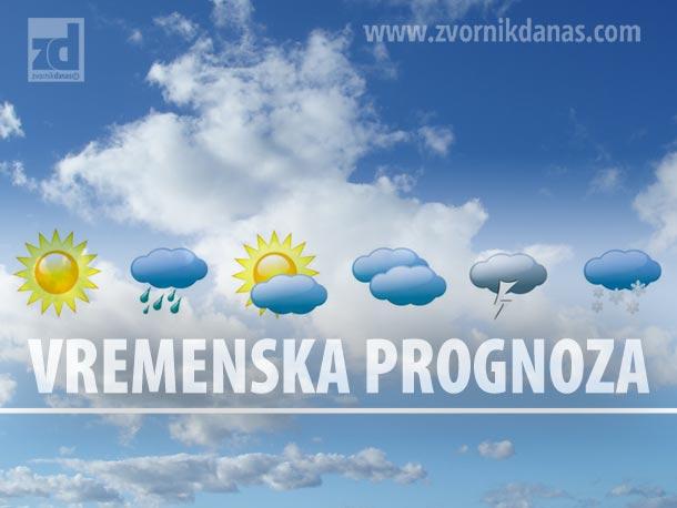 Danas oblačno sa padavinama