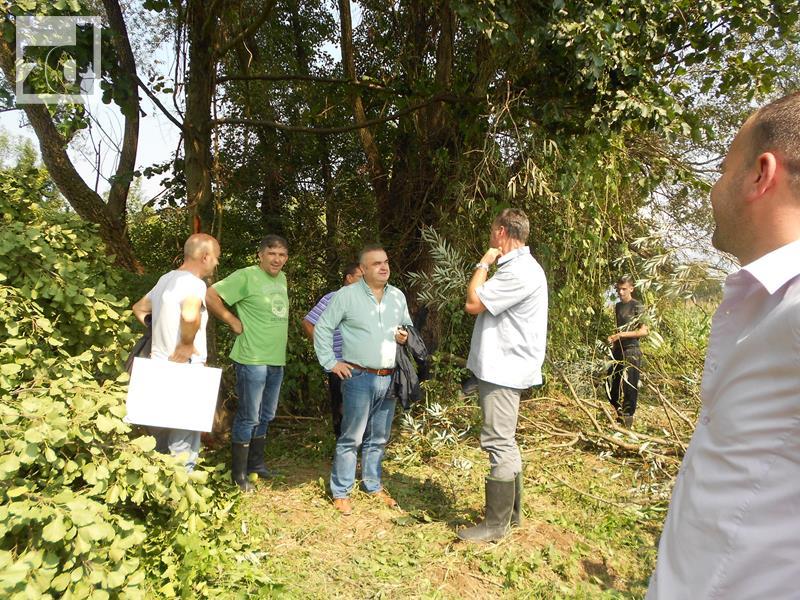 Photo of Čišćenje korita rijeke Sapne