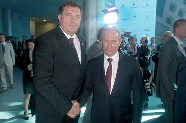 Dodik sutra sa Putinom