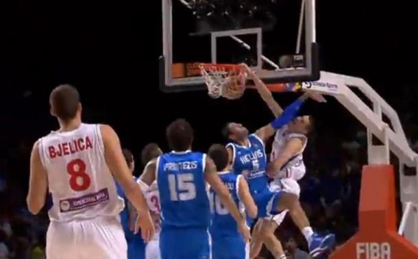 Kalinićevo zakucavanje drugi najbolji potez Mundobasketa! (video)