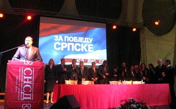 Dodik: Cvijanovićeva udarna pesnica Srpske