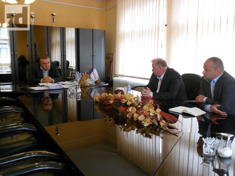 Photo of Potpredsjednik Suljkanović razgovarao sa načelnikom Stevanovićem