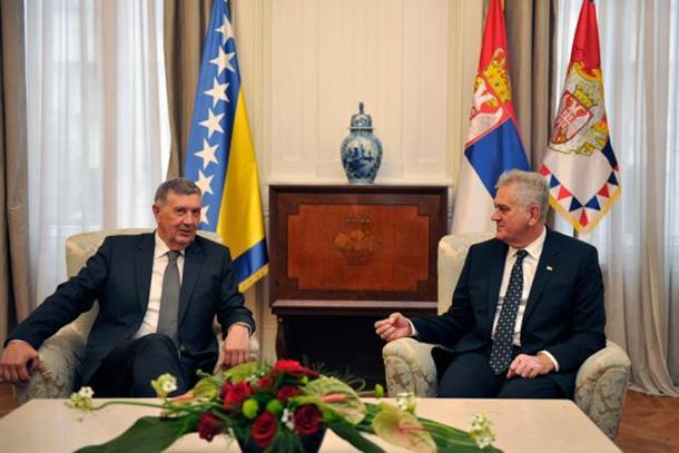 Nikolić i Radmanović za što bolju saradnju