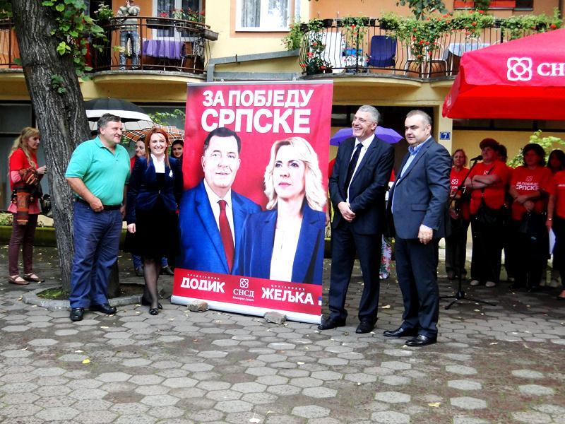 Photo of SNSD u Zvorniku danas zvanično započeo predizbornu kampanju