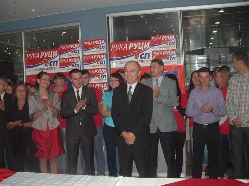 Photo of Socijalistička partija u Zvorniku predstavila poslaničke kandidate