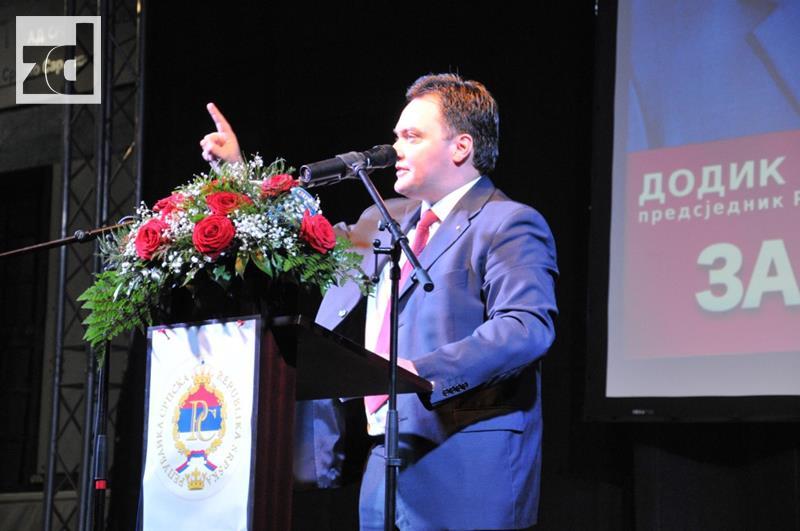 Košarac: Republici Srpskoj smo vratili ime i prezime