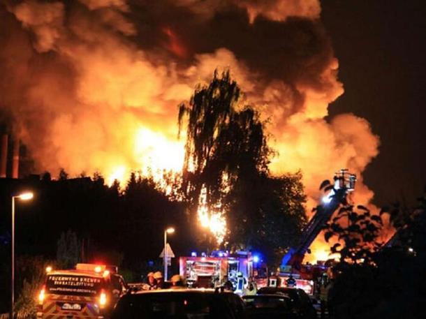 Stravična eksplozija u NJemačkoj