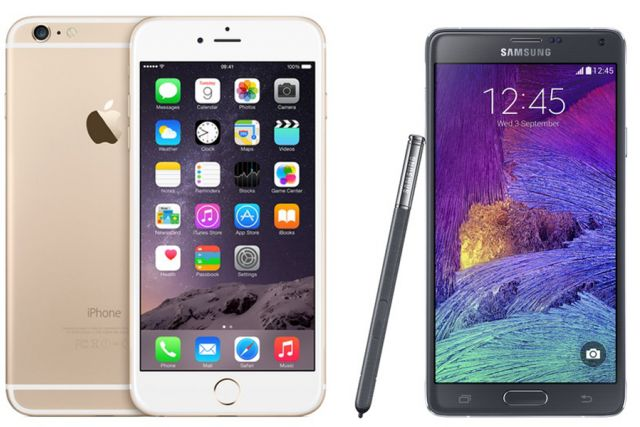 Samsung Galaxy Note 4 nadmašio Ajfon 6 na testu ekrana