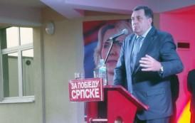 Dodik: Glasati za SNSD, stranku koja će očuvati Srpsku