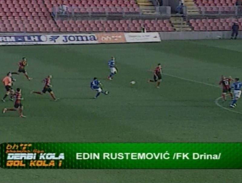 Pogledajte fenomenalan gol Rustemovića u Zenici (video)