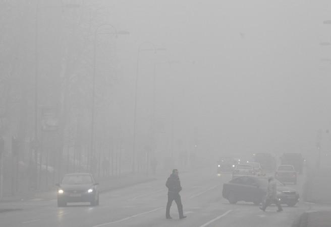Magla smanjuje vidljivost