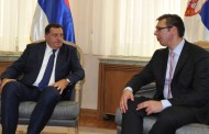 Dodik zamolio Vučića da odgodi sutrašnju posjetu zbog brojnih napada