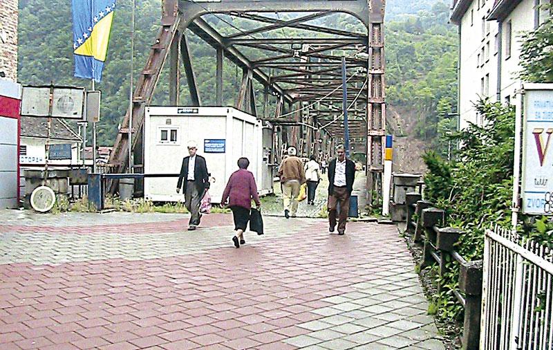 Photo of Stari most zatvoren za sva lica koja ne žive na području opština Zvornik i Mali Zvornik