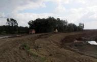 Oštećen nasip na Savi između sela Brodac i Balatun