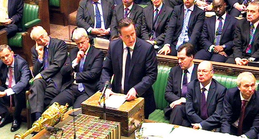 Parlament Velike Britanije odobrio vazdušne udare