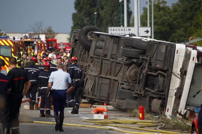 Poginula Rumunka usljed prevrtanja autobusa