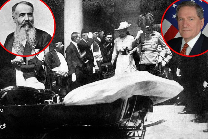 Photo of Supruga Ričarda Holbruka: Srbi i Rusi krivi za Prvi svjetski rat
