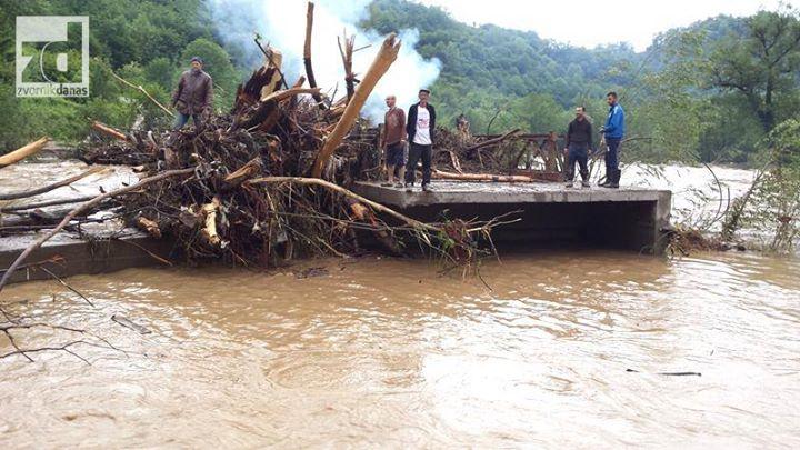 Počeli radovi na montaži mosta na rijeci Drinjači