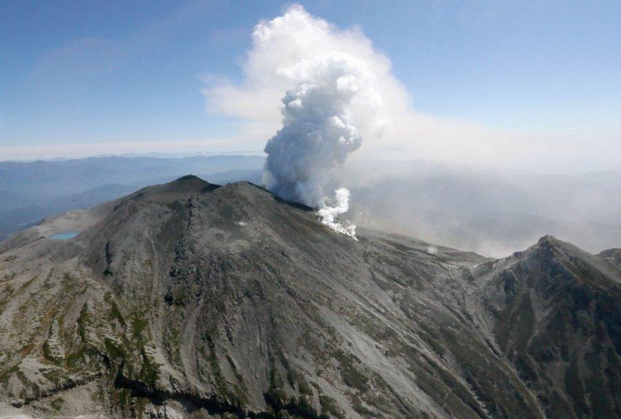 Photo of Nova erupcija na planini Ontake