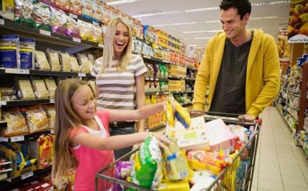 Šoping kupovina market potrošnja