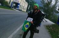 Neobičan prizor u Zvorniku: Brazilac autostoper