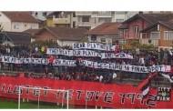 Navijači Škendije: Platini, idemo li na EP ako ubijemo Srbe?