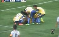 Fudbaler preminuo nakon što je napravio salto slaveći pogodak (video)