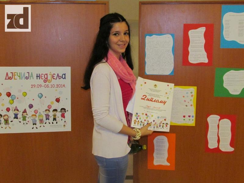 Photo of Lidija Miličić dobila treću nagradu na literernom konkursu