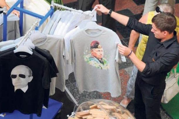 Velika potražnja za majicama sa Putinovim likom
