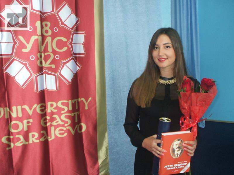 Photo of Sa prosjekom od 9,75 Marija Riđošić najbolji diplomac Tehnološkog fakuletata u Zvorniku