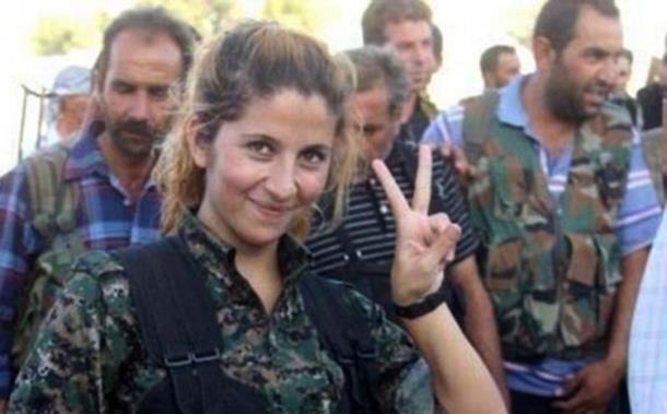 Niko ne zna ko je 'Anđeo iz Kobanea'