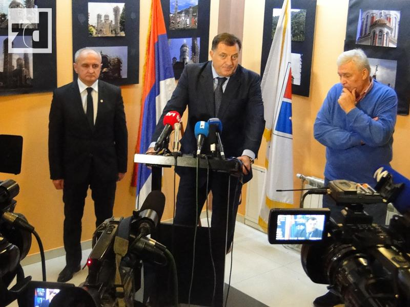 Photo of U Zvorniku održan sastanak Dodika, Pavića i Đokića (foto/video)