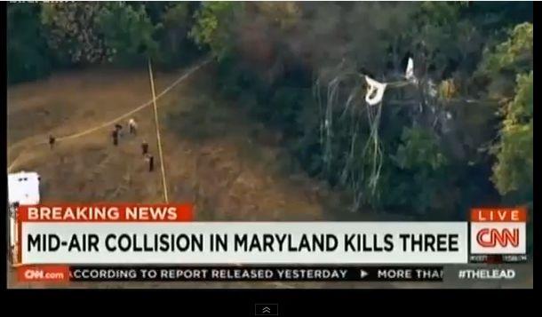 Jeziv snimak direktnog sudara aviona i helikoptera (video)