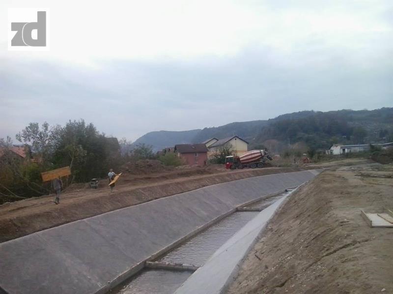 Photo of Uređenje vodotoka rijeka Sapne i Hoče privode se kraju