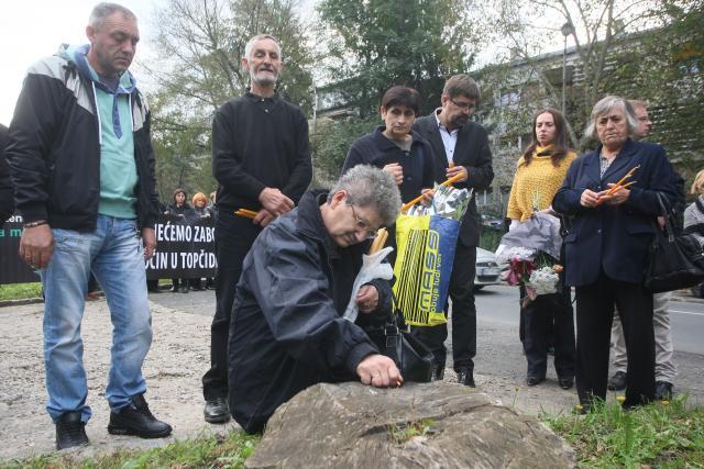 Obilježena decenija od ubistva dvojice gardista u Topčideru