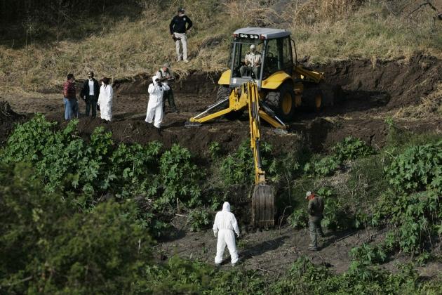 Photo of U Meksiku pronađene masovne grobnice