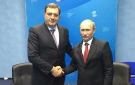 Dodik i Putin sinoć razgovarali telefonom