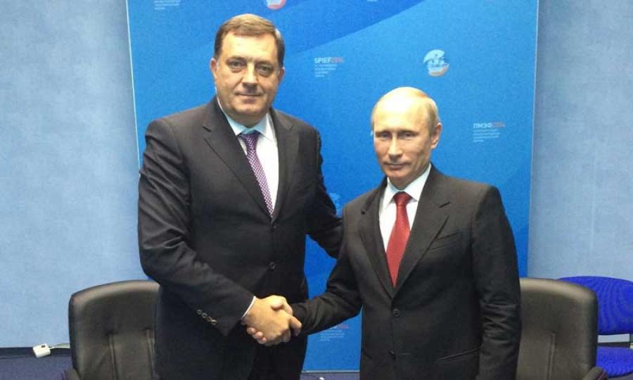 Photo of Dodik čestitao rođendan Putinu