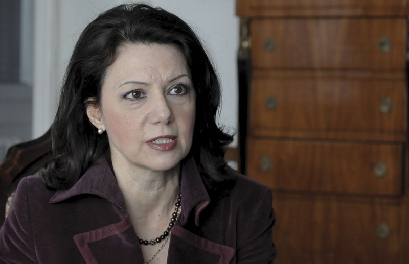 Novi predsjednik DSS-a Sanda Rašković-Ivić
