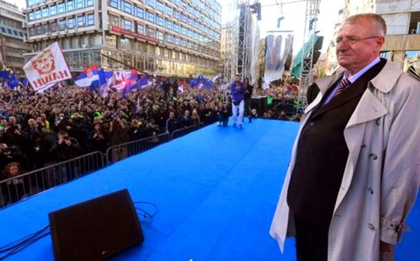 Kao nekad: Miting radikala u Beogradu